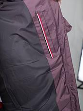 Женский пуховик с натуральным кроликом CW18D306CQ цвет какао (#809), фото 2