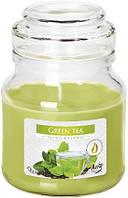 Свеча ароматизированная Bispol Зеленый чай 10 см (snd71-83)