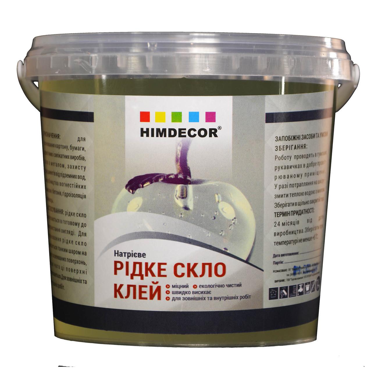 Жидкое стекло Himdecor (Натриевое) 3кг