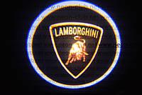 Подсветка дверей авто / лазерная проeкция логотипа Lamborghini | Ламборджини