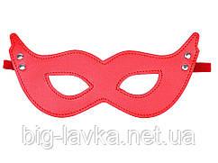 Фетиш маска для ролевых игр БДСМ  Красный