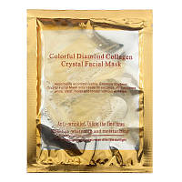 Коллагеновая маска для лица Colorful Diamond Collagen Crystal Facial Mask / Gold