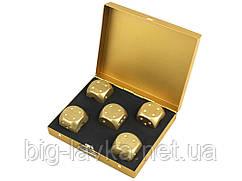 Набор игральных кубиков Moun  Золотой