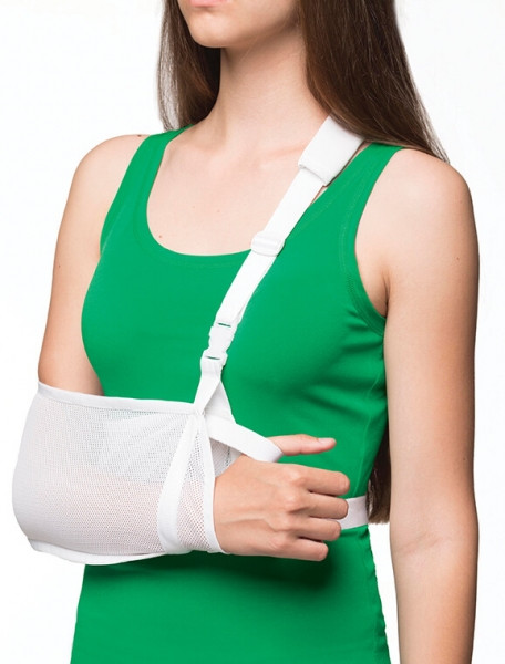 Бандаж для руки поддерживающий с дополнительной фиксацией  Medtextile 9905