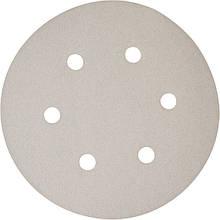 Набір білої шліфувального паперу на липучці 150 мм К180 6 отворів (50 шт.) Makita (P-37792)
