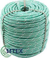 Шнур полипропиленовый плетеный Ø10мм. 25 метров Фал