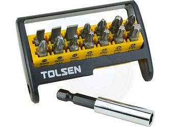 Набор бит с держателем Tolsen 20365
