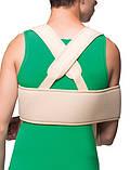 Пов'язку на плечовий суглоб зігріваючий, пов'язка ДЕЗО Medtextile 8012, фото 2