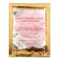 Коллагеновая маска для лица Colorful Diamond Collagen Crystal Facial Mask / Pink