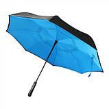 Зонт трость из шелка 8-панельный, розница + опт \ es - 957963, фото 5