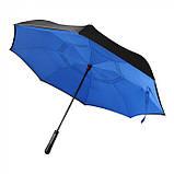 Зонт трость из шелка 8-панельный, розница + опт \ es - 957963, фото 4