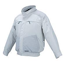 Акумуляторна куртка з вентиляцією і плечовими накладками Makita DFJ 405 ZM