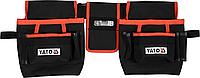 Пояс для инструментов, 4 кармана и держатель для рулетки, YATO