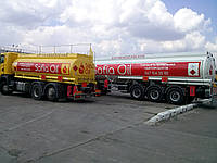 Доставка нефтепродукты по Киеву и области