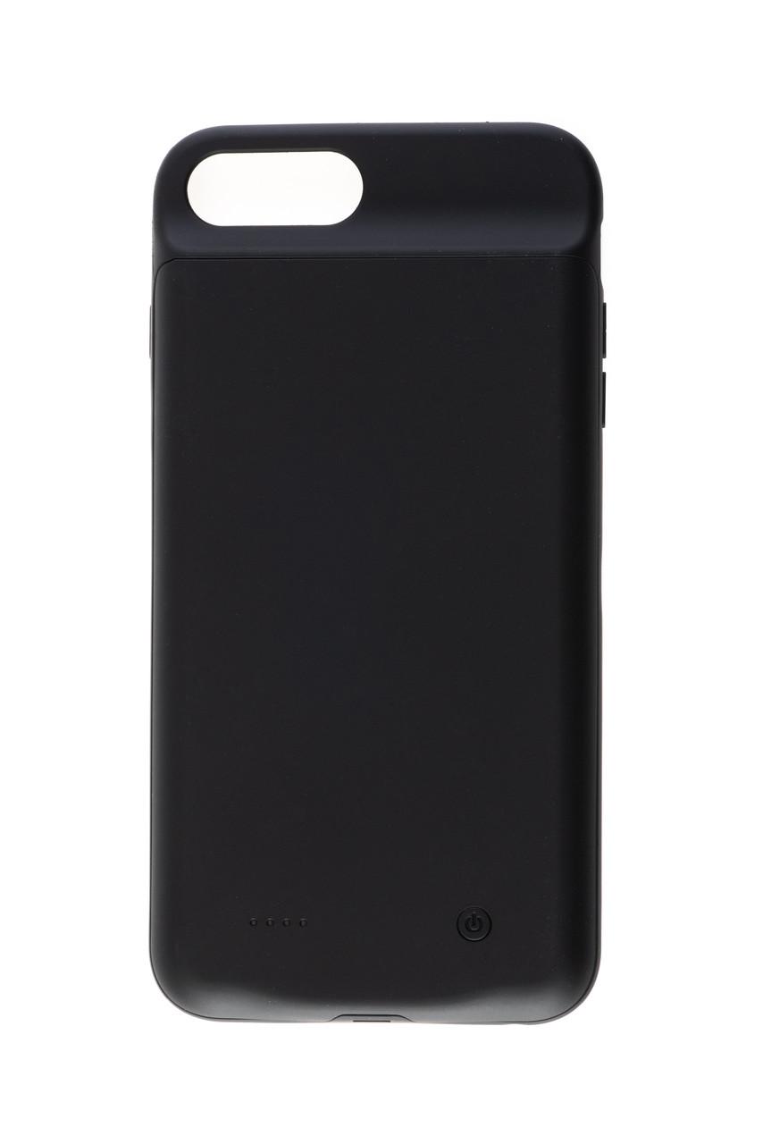 Чехол аккумулятор AmaCase для iPhone 8 Plus Чёрный (4000 мАч)