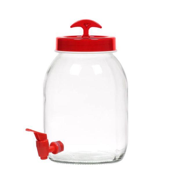 Диспенсер для напитков HEREVIN Vega RED, 3 л
