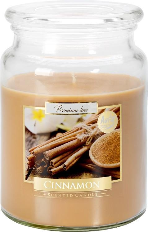 Свеча ароматизированная Bispol Корица 14 см (snd99-65)