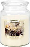 Свеча ароматизированная Bispol Ваниль 14 см (snd99-67)