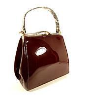 Лаковая сумочка цвета марсала, тренд года, расцветки