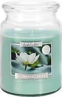Свеча ароматизированная Bispol Утренняя роса 14 см (snd99-252)