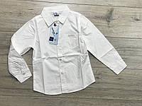 Катоновая рубашка для мальчиков. 4- 12 лет.