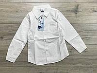 Катоновая рубашка для мальчиков. 8- 16 лет.