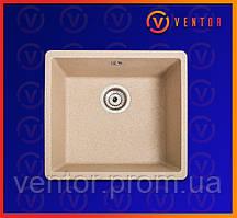 Кухонне миття з штучного каменю (граніту) Вега пісочний