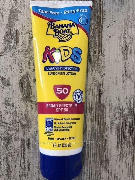 Детский солнцезащитный лосьон Banana Boat Kids SPF 50