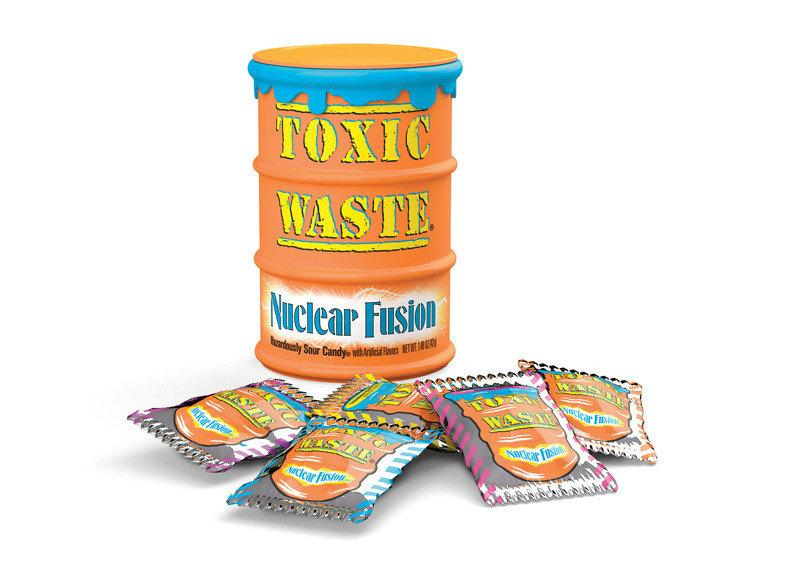 Конфеты Toxic Waste Nuclear Fusion 42 g
