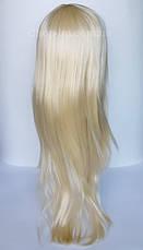 Парик цвета шампань (блонд),  прямой (70 см), фото 3