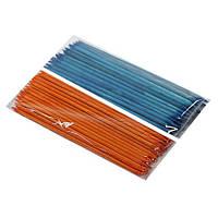 Палочки апельсиновые цветные 17,8см 50шт