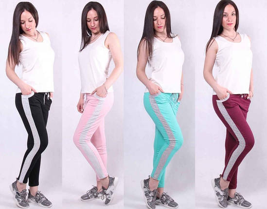 Молодежные женские спортивные штаны, фото 2
