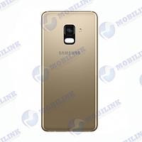 Крышка задняя Samsung A8+ A730 Золото Gold GH82-15629C оригинал!