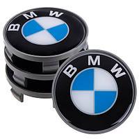 Заглушка колесного диска BMW 68x63 универсальная-модельная (4шт.) (SAK 12/076)