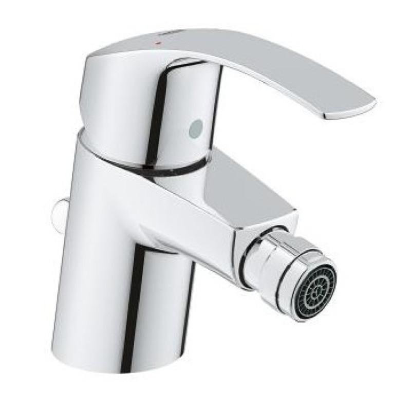 Латунный смеситель для биде с донным клапоном Grohe Eurosmart 32929002
