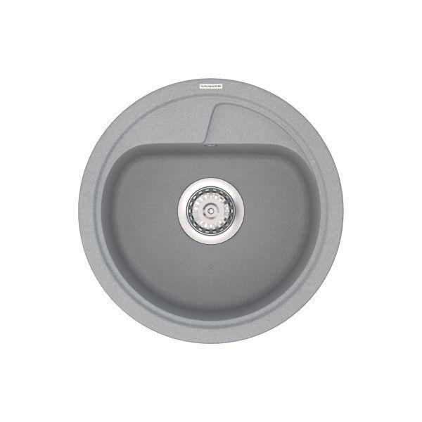 Кухонная мойка VANKOR Polo PMR 01.45 Gray stone