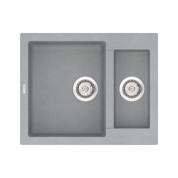 Кухонная мойка VANKOR Orman OMP 03.61 Gray stone