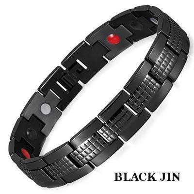 Магнитный браслет Черный Джин