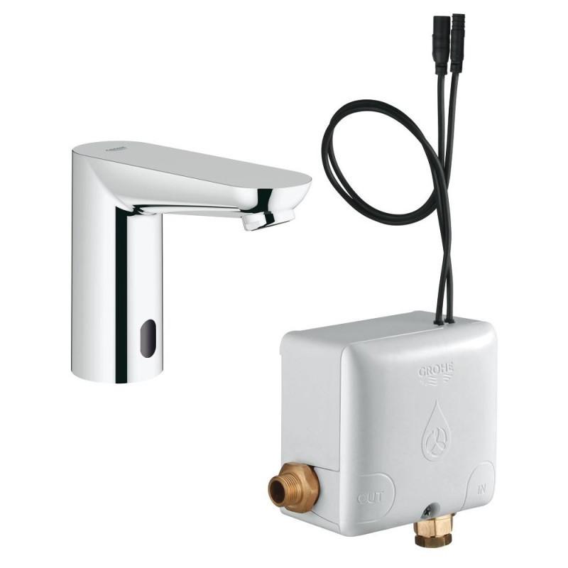 Смеситель для умывальника Grohe Euroeco Cosmopolitan E 36384000 бесконтактный, 6V (без функции смешивания воды)