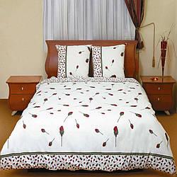 Постельное белье ТЕП Колорит Premium collection Бутон розы красной Евро