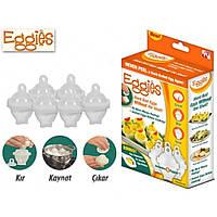 Яйцеварка Eggies форма для варки яиц без скорлупы