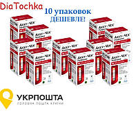 Тест-смужки Акку-Чек Перформа 10упаковок/Accu Chek Performa 500 Термін:12.2021