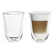 Набір склянок DeLonghi Latte Macchiato 220 мл (2 шт.)