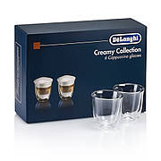 Набір склянок DeLonghi Cappuccino 190 мл (6 шт.)