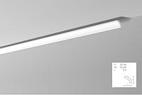 Карниз(плинтус) потолочный гладкий  NMC, B 2  , лепной декор из пенопласта