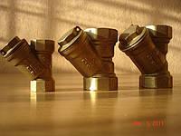 Фильтр муфтовый латунный РУ16 Ду15-50