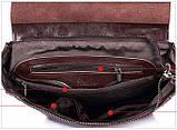 Жіночий шкіряний рюкзак міський. Модний рюкзак жіночий сумка рюкзак трансформер (рожевий), фото 9
