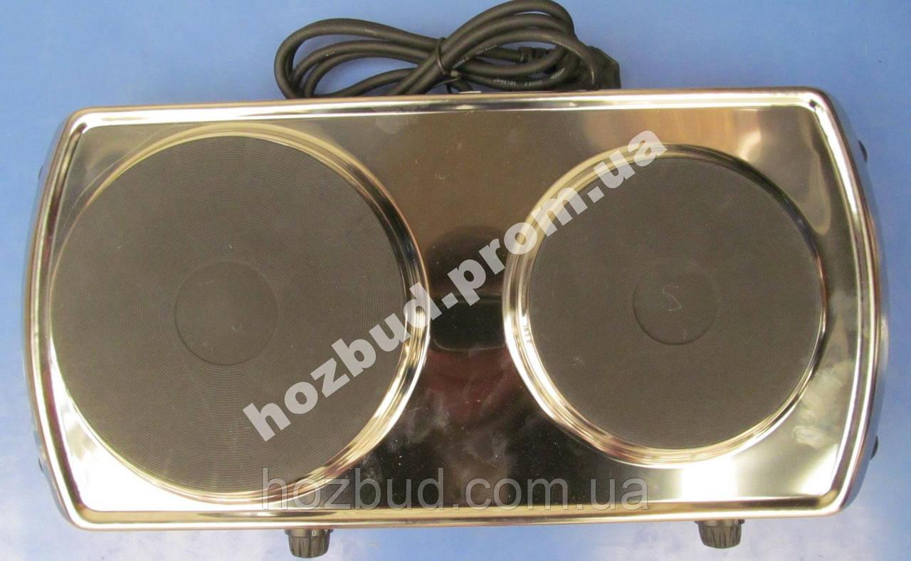 Плита электрическая настольная 3 кВт нержавейка