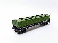 4-осный вагон модели 12-4011 для перевозки холоднокатаной стали, СЖД, H0,1/87, фото 1