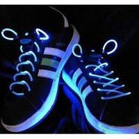 Светящиеся шнурки KS Disco Blue R150694